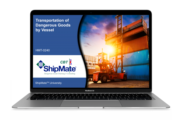 Transportation of Dangerous Goods by Vessel