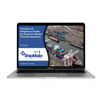Transport of Dangerous Goods by Vessel for Marine Terminal Operators