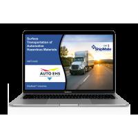 Surface Transportation of Automotive Hazardous Materials - (single license, 12 months)