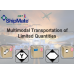 Multimodal Transportation of Limited Quantities